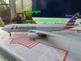 American Airlines B 777-200ER new livery