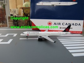 Air Canada A321 new 2017 livery