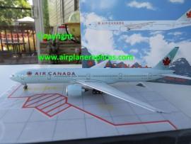 Air Canada B 777-300ER Ice Blue livery