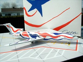Braniff B 727-200 Calder 1976 Flying colors livery