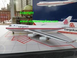 Cargolux B 747-400F Retro livery
