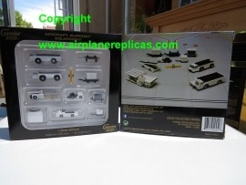 Airport support Equipment set of 11 pieces 1/200 scale