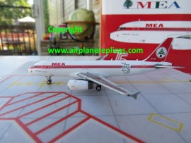 MEA Middle East Airlines A320 75th Ann. retro livery