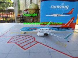 Sunwing Airlines of Canada B 737-800 Thompson/TUI hybrid livery
