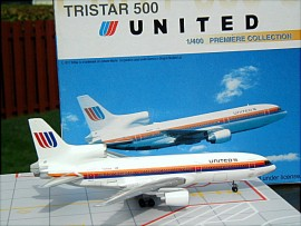 United Airlines Lockheed Tristar L-1011 Bass livery